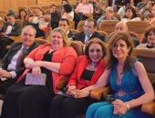 صور.. تكريم لبنى عبد العزيز بحضور سفراء أمريكا وأرمينيا وسلوفينيا والمجر