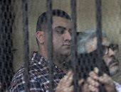 """وصول معاون مباحث قسم شرطة المقطم المتهم بقتل """"عفروتو"""" لمحكمة عابدين"""
