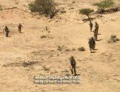 الجيش اليمنى مدعوما بالتحالف يكبد الحوثيين خسائر فى جبهة كتاف
