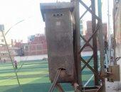 محول كهرباء داخل مركز شباب بردين بالزقازيق.. والأهالى يطالبون بنقله للخارج