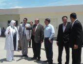 وكيل وزارة الإسكان بالمنوفية يتفقد مشاريع مدينة السادات