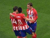 نهائى الدورى الأوروبى.. جريزمان يسجل هدف أتلتيكو مدريد الثانى أمام مارسيليا