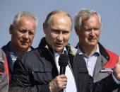 بوتين: السفن الروسية فى البحر المتوسط متأهبة بسبب التهديدات بسوريا