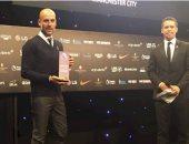 جوارديولا يفوز بجائزة أفضل مدرب فى الدورى الإنجليزى