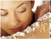 ما ترميش قشر المكسرات.. 3 وصفات طبيعية لتقشير الجسم قبل النوم