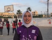 فيديو وصور.. فتيات شمال سيناء يقبلن على رياضة السلة وتكوين أول فريق رسمى بالمحافظة