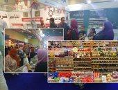 صور.. إقبال كبير على معرض أهلا رمضان.. توفير 114 سلعة بأسعار مخفضة تصل لـ30%.. اللحوم الطازجة بـ85 جنيها للكيلو والمجمدة بـ60 والسمك البلطى بـ21 والسكر بـ8.. ووزير التموين: السلع متوفرة بكميات كبيرة طوال الوقت