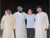 مدير مكتب ولى العهد السعودى ينشر صورة الرئيس السيسى مع الزعماء العرب فى لقاء ودى