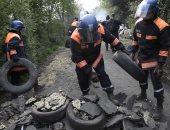 صور..الشرطة الفرنسية تطرد نشطاء معتصمين بموقع لبناء مطار غرب البلاد