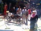 رئيس مدينة أشمون بالمنوفية يتفقد أعمال تطوير شارع الجلاء