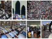 مسلمو العالم يقبلون على صلاة أول جمعة فى شهر رمضان المعظم