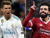 """تقارير: رونالدو يرفض ضم ريال مدريد لـ""""ليفاندوفسكى"""" ويتمسك بـ محمد صلاح"""