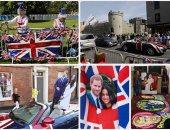 الآلاف يزحفون إلى قلعة وندسور لحضور زفاف الأمير هارى وميجان ماركل