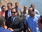 صور.. محافظ الغربية يفتتح سوق السيارات الجديد على قناة طنطا الملاحية
