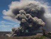 """وصول حمم بركان """"كيلاويا"""" فى ولاية هاواى الأمريكية إلى المحيط الهادىء"""