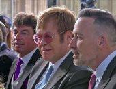 شاهد.. ألتون جون فى كنيسة سان جورج احتفالا بزفاف الأمير هارى وميجان ماركل