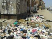 شكوى من تراكم أكوام القمامة بجوار محول كهرباء رئيسى فى الزقازيق