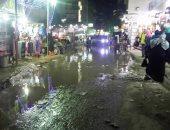 استمرار طفح مياه المجارى بشارع يوسف الدجوى فى عزبة النخل بالقاهرة