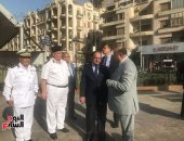 صور..وزير الداخلية يتفقد ميادين القاهرة ويشدد على اليقظة