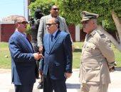 محافظ كفر الشيخ ومدير الأمن يتفقدان الحالة المرورية