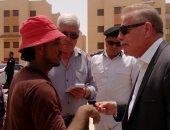 """صور.. محافظ جنوب سيناء يعلن """"طور سيناء"""" مدينة واعد للمستقبل"""