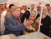 """محافظ الإسماعيلية يتفقد انتظام العمل بمعرض """"أهلاً رمضان"""""""