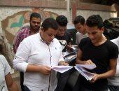 استبعاد رئيس لجنة بامتحانات الدبلومات الفنية لدخول الطلاب بالمحمول