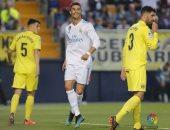 اهداف مباراة ريال مدريد وفياريال فى الدوري الاسباني 2 - 2