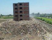 شكوى من حريق القمامة بالإسكان الاجتماعى بههيا فى محافظة الشرقية