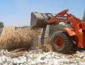 إزالة 265 حالة تعدى على أراضى زراعية وأثرية وأملاك دولة بمحافظة البحيرة