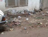 شكوى من تسرب مياه أسفل عقارات بشارع عبدون بالكوم الأخضر