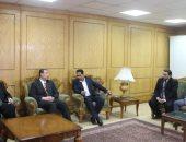 صور.. سفير فلسطين بالقاهرة يشكر السيسي على مجهوداته لتخفيف معاناة الفلسطينيين