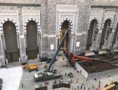 إدارة مكة: ذراع الرافعة سقطت فى موقع غير مخصص للصلاة أو مسار المعتمرين