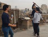 """من وراء الكواليس.. ياسر جلال ينقذ مدير تصوير """"رحيم"""" من تحت أيدى المخرج"""