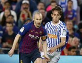 فيديو.. برشلونة يهزم ريال سوسيداد بهدف فى ليلة وداع إنييستا