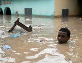 صور.. تشريد الآلاف بسبب الفيضانات فى الصومال