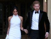 ميجان ماركل تكشف عن فستان زفافها الثانى من تصميم  Stella McCartney