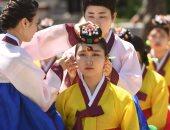 """جميلات كوريا الجنوبية يحتفلن بيوم """"بلوغ سن الرشد"""" فى سول - صور"""