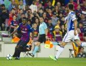 برشلونة يكشف عن حجم إصابة عثمان ديمبلى