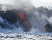"""وصول حمم بركان """"كيلاويا"""" بولاية هاواى الأمريكية إلى المحيط الهادئ -صور"""