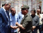 رئيس الهيئة الهندسية للقوات المسلحة يتفقد أعمال تطوير مجلس النواب
