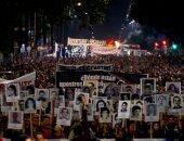 """صور.. الآلاف يشاركون فى مسيرات صامتة بأوروجواى لإحياء ذكرى مجازر """"كوندور"""""""