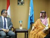 وزير الآثار يلتقى مستشار هيئة السياحة الثقافية بالسعودية لبحث التعاون