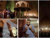 أكف الضراعة لله فى صلاة التراويح بمسجد السلطان حسن