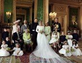 صور.. الأمير هارى وزوجته ميجان ينشران الصور الرسمية لعرسهما الملكى