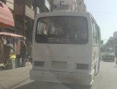 شكوى من جشع سائقى الميكروباص فى حلوان بتقطيع المسافات لزيادة الأجرة