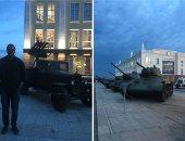"""""""اليوم السابع"""" يرصد فخر صناعة السلاح الروسى بمتحف يكاترينبورج..صور"""