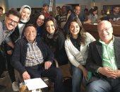 """هبة مجدى تحتفل بعيد ميلاد الزعيم عادل إمام: """"عقبال مليون سنة"""""""