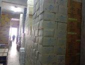 ضبط 16 طن بسكويت فاسد بمصنع غير مرخص فى الأسكندرية