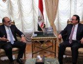 وزير الاتصالات يبحث مع وفد فيزا العالمية تحويل مصر لمركز إقليمى للمدفوعات الرقمية